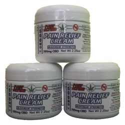 CBD Infused Pain Cream - 2oz Jar